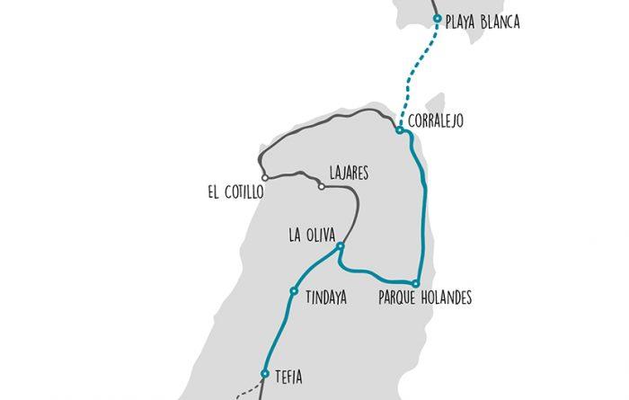 Bikepacking Tefia - Corralejo - Playa Blanca