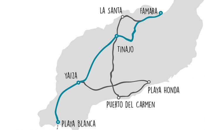 Bikepacking Playa Blanca - Famara