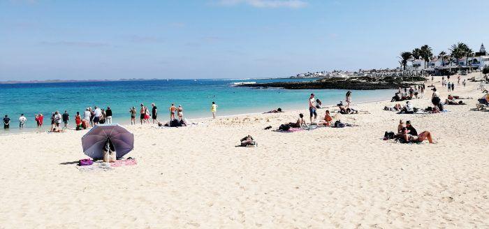 Strand bei Corralejo