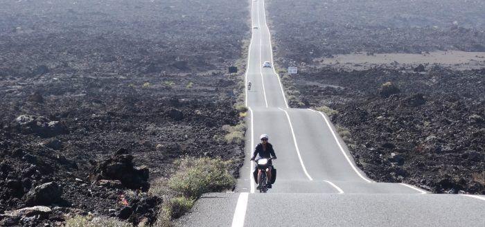 Bikepacking durch den Timanfaya Nationalpark