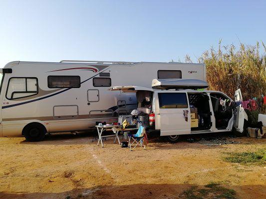 Camper in Sidi Ifni
