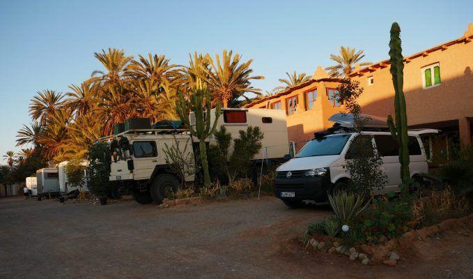 Oase Tighmert - Ein Highlight unsere Marokko Rundreise mit dem Campervan