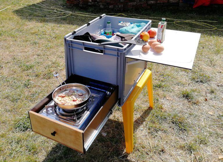 Diy Camper Küchenbox