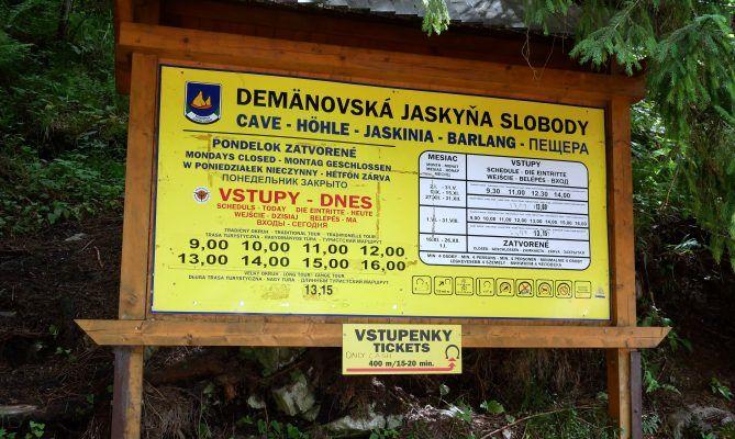 Die Demänová-Freiheitshöhle