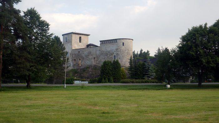 "Die Burg in ""Liptovsky Hradok"""