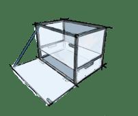 Illustration Aluprofil Küchenbox