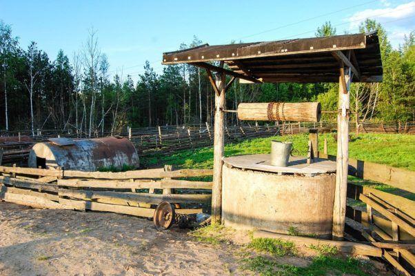 Ein Brunnen funktioniert auch nach 200 Jahren