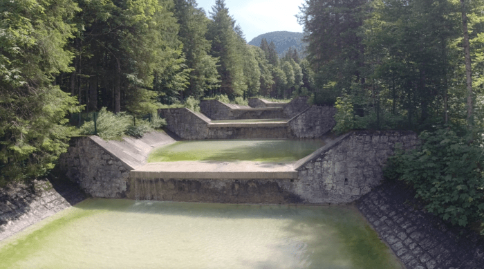 Einlaufwehr Rißbach