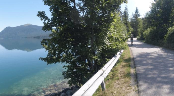 Mautstraße Südseite Walchensee