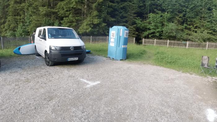 Dixie Toiletten Stellplatz Walchensee