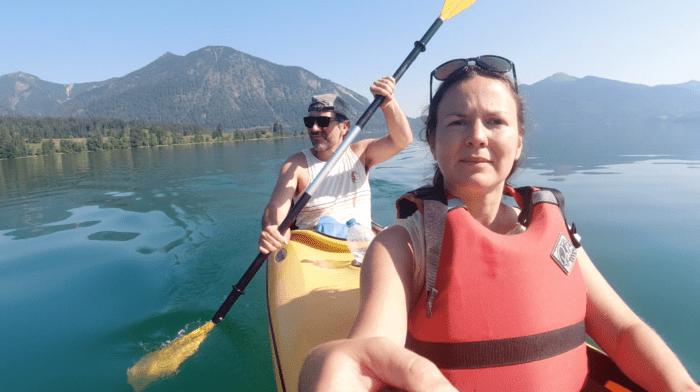 Kajaktour am Walchensee