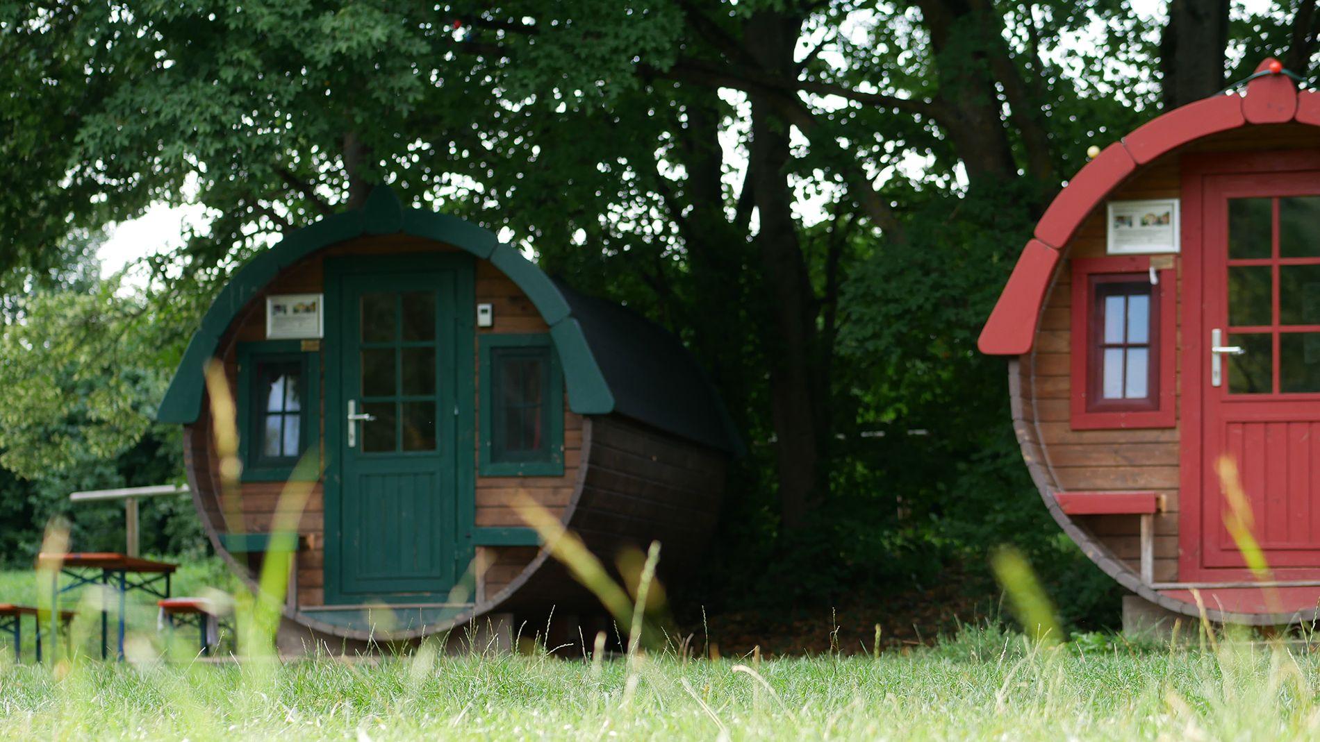 Holzfass camping eichstaett