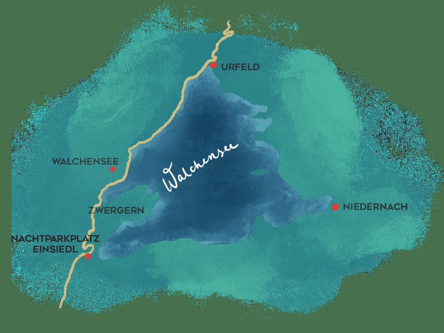 Walchensee_Karte