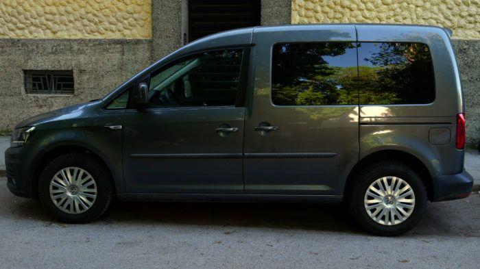 VW Caddy - die kurzw Variante