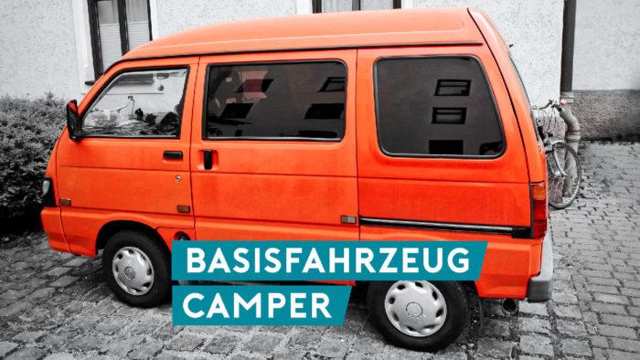 Piaggio Porter als Basisfahrzeug für den Camperausbau