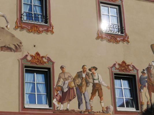 Mittenwald Hausmalerei