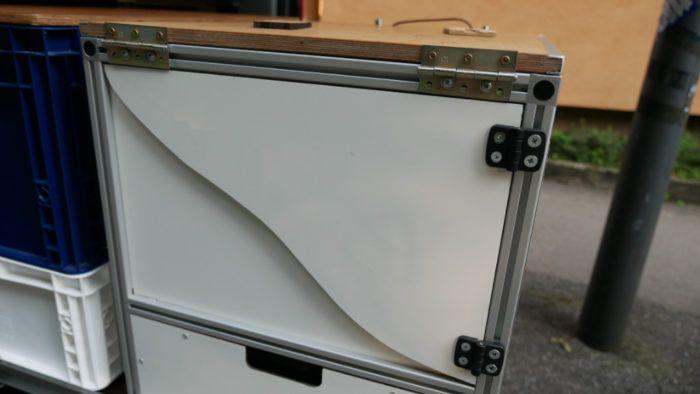 stuetze tisch kuechenbox