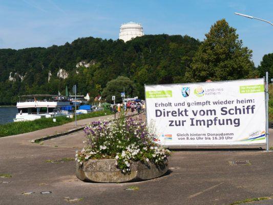 Kelheim Impfung Schiff