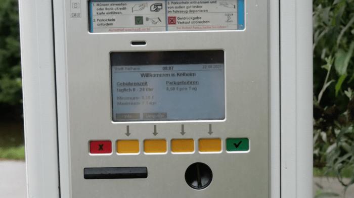 Kelheim Stellplatz Automat