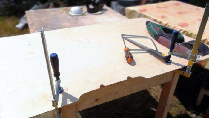 Feine Sägearbeiten können mit der Laubsäge gemacht werden